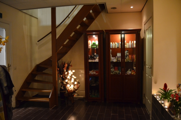 Boven etage Mandarin Spa Uden